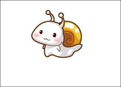 推荐一组可爱生动的蜗牛卡通形象欣赏,风格各不相同,供大家鉴赏.