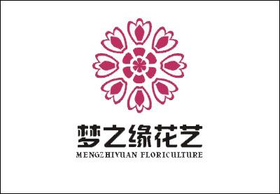 漂亮时尚的花店logo设计欣赏