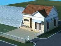 休闲度假的农业院落设计