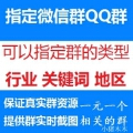 小猪木木:qq群推广精准指定qq群关键词类型行业地区QQ微信群发营销推送代加拉人