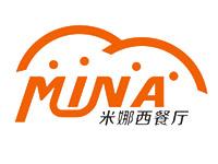 米娜Mina西餐店LOGO设计