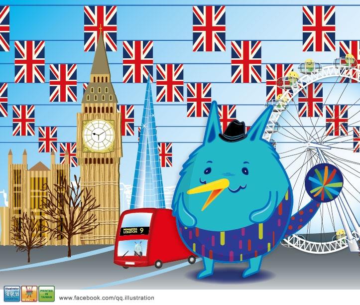 毛球怪獸遊倫敦
