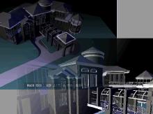 建筑在线三维漫游系统