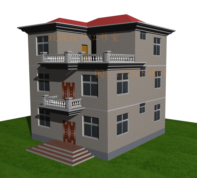 二层半房屋效果图