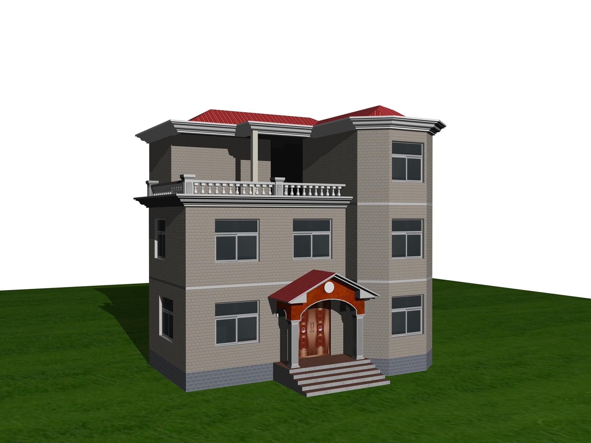 自建房效果图