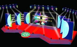 娱乐舞台效果图制作  利用舞台空间制造效果
