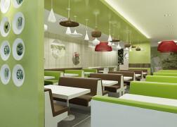 快餐店装修设计 快餐店装修设计流行趋势