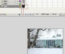 flash动画制作教程 下雪场景的flash动画设计