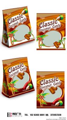 椰子糖包装