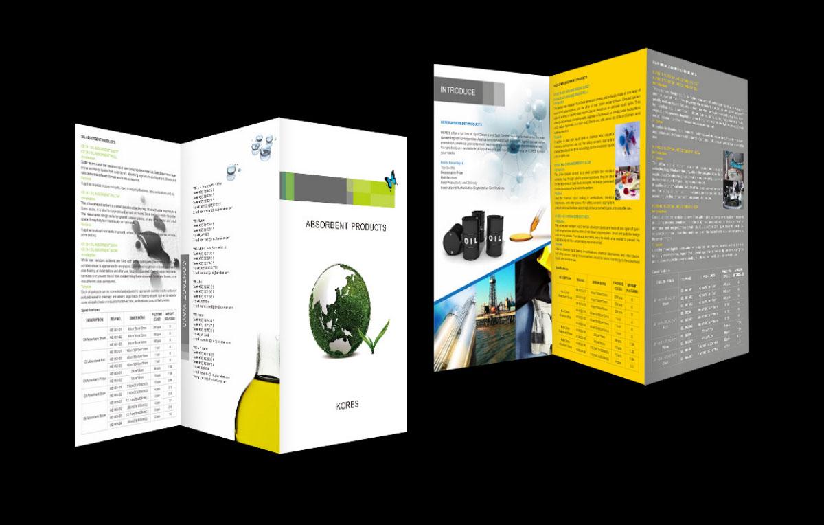 北京中珂瑞三折頁宣傳冊設計