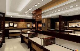 如何设计珠宝商铺装修的照明  珠宝商铺装修照明设计要求