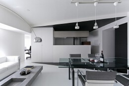 创意家装设计黑白简约风格 家装黑白简约设计风格主义