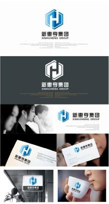 新惠亨集团LOGO设计
