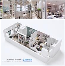 威客服务:[20086] LOFT公寓设计