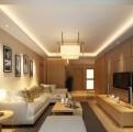 御上江南普通住宅3室2厅2卫现代装修案例效果图