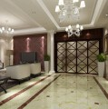 海盐别墅独栋别墅6室3厅3卫中式装修案例效果图