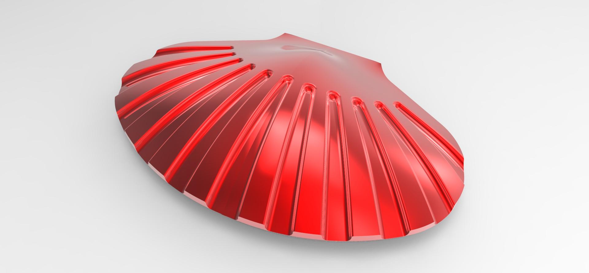 彩妆盒结构外型设计案例
