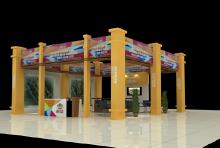 威客服务:[25076] 展会展厅设计