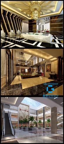 售楼部、大厅工装设计