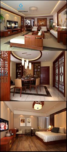 新中式风格家装设计