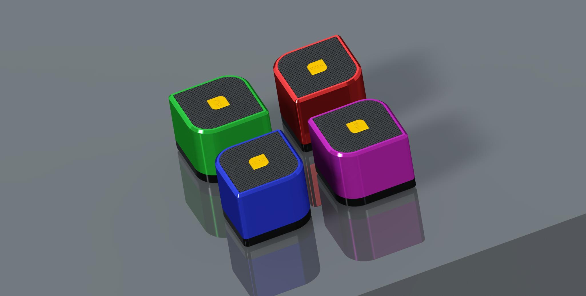 氧化铝外壳插卡小音箱