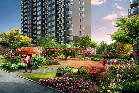 北京小区景观设计_北京小区景观规划