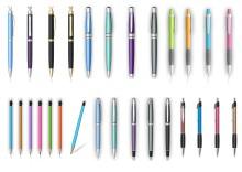 塑料笔、铝杆笔、金属笔