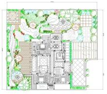 别墅庭院景观配套设计