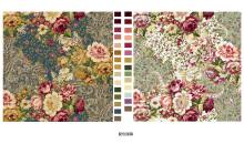 纺织品设计画稿-配色画稿订制