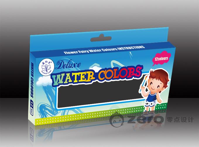 水彩包装盒
