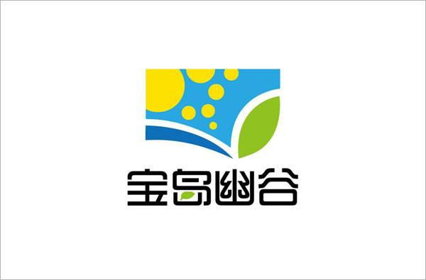 宝岛幽谷空气治理logo设计
