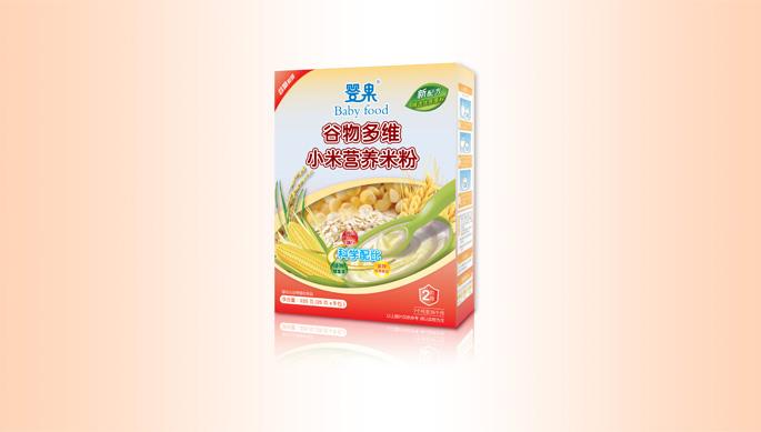 婴果米粉包装设计