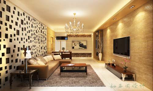 同一客厅,同一角度不同体现