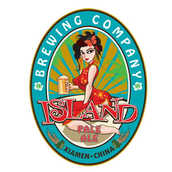 Island Brewing Label