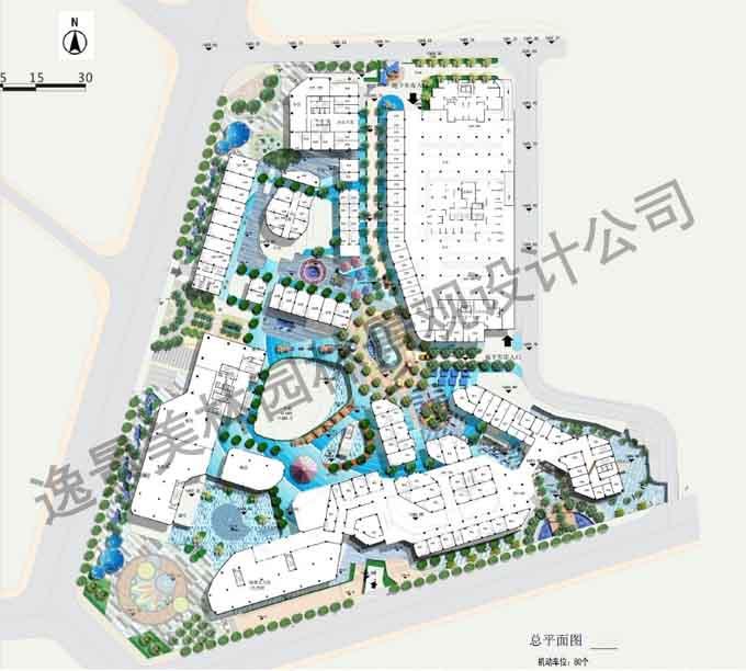 云南某CBD景观规划设计