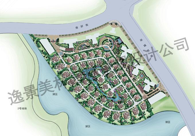 云南某小区概念性规划设计