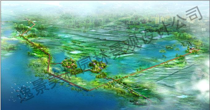 云南某生态湿地规划设计