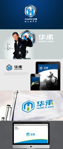 HUAC/华承电动车新标识