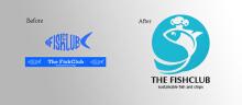 英国THE FISHCLUB餐厅标识更新