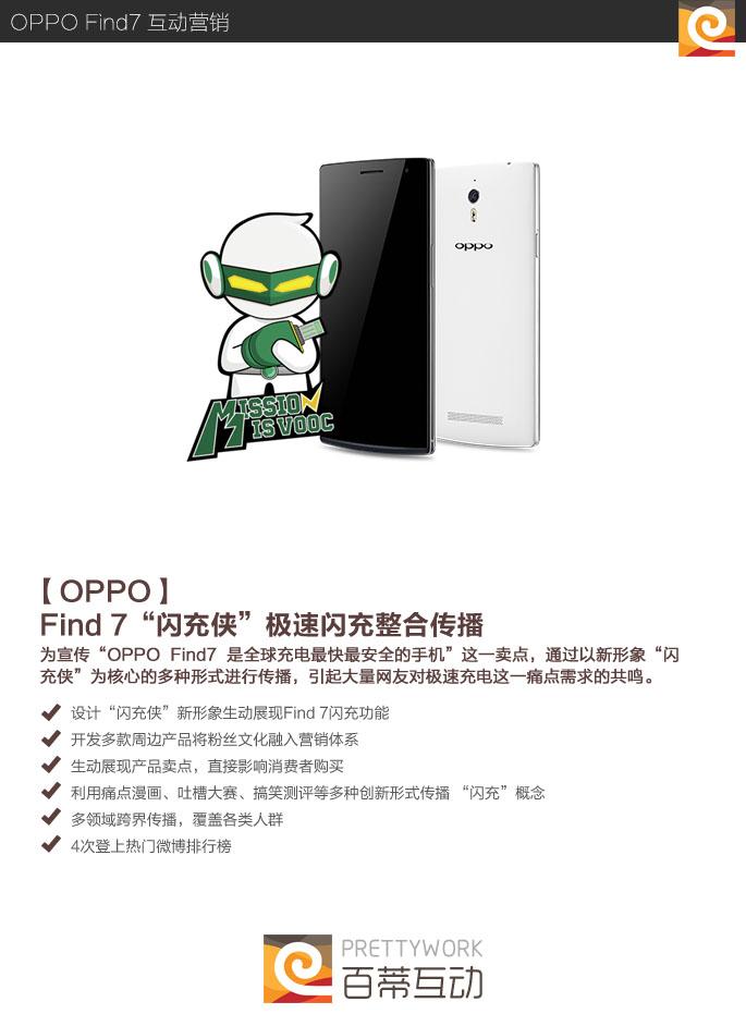 oppo Find7 整合互动营销