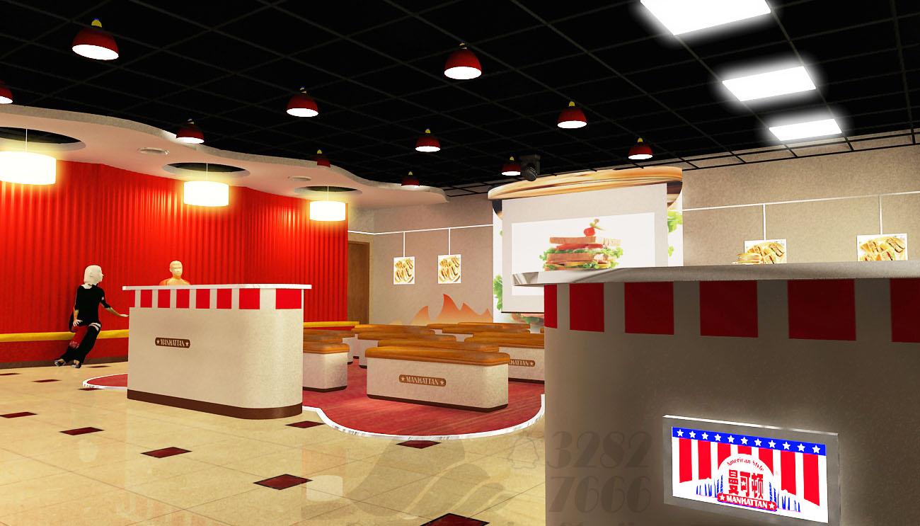 曼可顿烘焙展厅