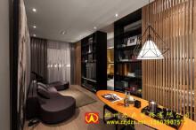 郑州中式办公室装饰设计作品