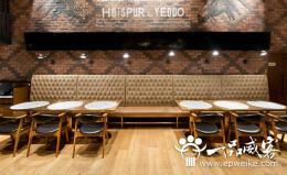 快餐店VI设计创意元素 餐饮店室内装修与VI设计