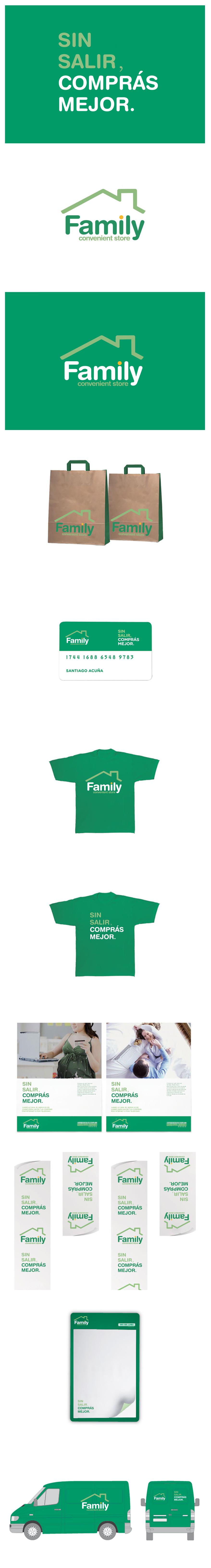 FAMILY-便利店vi