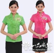 茶类行业工作服设计的共同点_茶馆工作服设计的风格