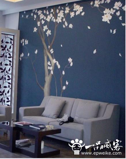 精致墙画怎么来?DIY手绘墙画步骤详解