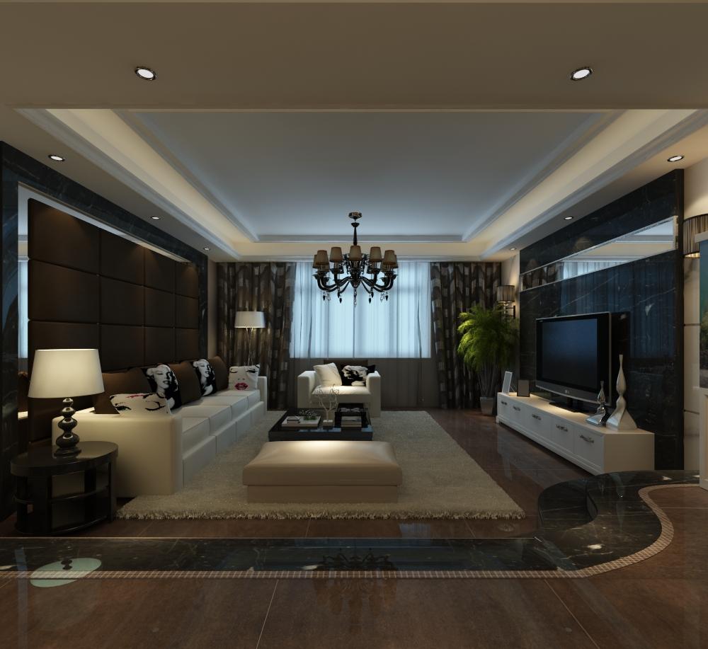 华富世家220平方设计方案