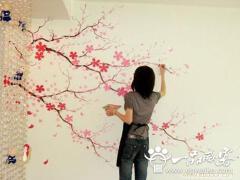 不同地方的手绘墙装饰风格及运用的地方