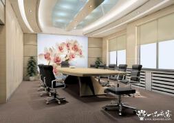 公司会议室背景墙设计装修注意要点