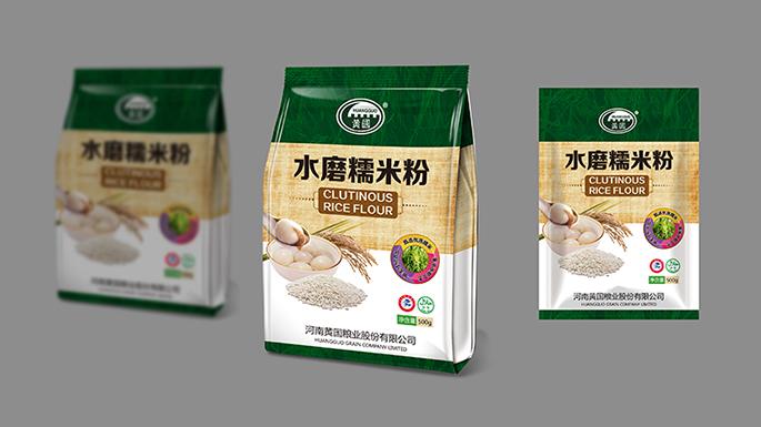 黄国粮业包装